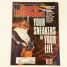 Sports Illustrated Magazine May 14 1990 Sneakers and Team Jackets Cover Feature