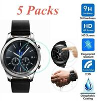 5Pc For Samsung Gear S2/S2 Classic Watch Premium Tempered Glass Screen Protector