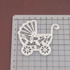 Baby Carriage Cutting Dies Stencil DIY Scrapbooking Embossing Album Paper Card