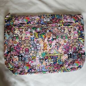NWT Jujube Tokidoki Toki Super Be Superbe Kawaii Carnival Large Tote Beach Bag