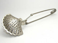 Stainless steel shell shape tea infuser with spring handle