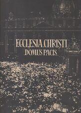 ecclesia christi domus pacis - anno santo 1950