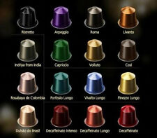 40 Nespresso Capsules SAMPLER SET of Coffee Selections Tasting Mix Variety Pack