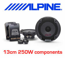 ALPINE 13cm 2-way CAR COMPONENT SPEAKERS with TWEETER