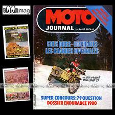 MOTO JOURNAL N°448 PATRICK DROBECQ SUZUKI PE 175 ENDURO TOUQUET HONDA NR 500 '80