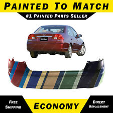 NEW Painted to Match Rear Bumper Replacement for 2001-2003 Honda Civic Sedan 4dr