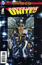 Futures End Justice League United #1 3D Cover Near Mint New 52 DC 2014 LBX1