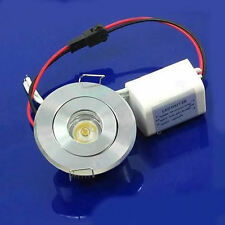 Cabinet LED Ceiling Indoor Down Light Fixture Recessed Warm White 85~265V 3W