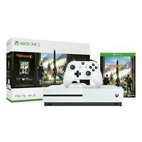 Microsoft 234-00872 Xbox One S 1TB Console with Tom Clancy's The Division 2