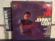Johnny Cash Ring Of Fire LP Album Vinyl Record CBS 62171 A1/B1 Country & Western