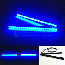"SOCAL-LED 6.5"" Blue Mini LED DRL Bar 24 SMD 5630 Waterproof Bright Light Strips"