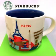 Starbucks You Are Here City Paris Collection Série Yah, 14 oz SKU New Mug France