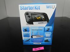 NINTENDO WII U STARTER KIT CHARGE & VIEW STAND DREAMGEAR 7-IN-1 D-11