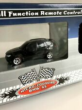 Micro-Zoomers Bmw X5 Black 1:72 Scale Full Function Remote Control Toy Car - New