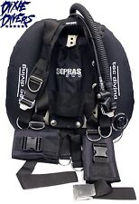SOPRAS SUB DOUBLES BCD TECHNICAL DIVING BC SS BACKPLATE 45lb LIFT WING NEW TEC