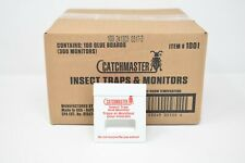 Catchmaster 100i Insect Glue Monitor 300 Pack (Case) Roach Ant Spider Trap