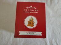 Hallmark 2019 Toymaker Santa 20th Anniversary Keepsake Club Member Ornament