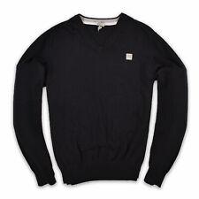 Bench Herren V-Neck Pullover Sweater Gr.XXL Strick Schwarz 95238