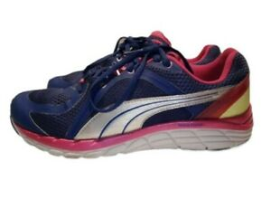 Puma Faas 600 S Womens Running Shoes Size 8 Pink Purple & White 186734 06