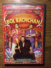 Bol Bachchan DVD Rohit Shetty Film Bollywood Hindi Dvd Ajay Devgan Abhishek Bach