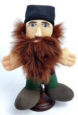 "DUCK DYNASTY Brown Bearded JASE Plush Stuffed Doll Figure 8"" A&E TV 2013"