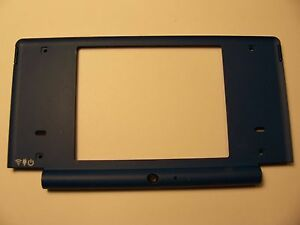 Nintendo DSi Replacement Hinge Repair Part Matte Blue Top Middle Shell/Housing