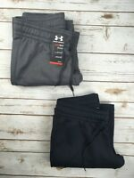 Womens Under Armour Storm Armour Fleece Pants Black Grey S M L XL 2XL DEFECT