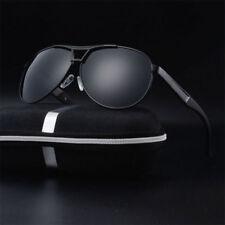 NEW Polarized Sunglasses Men's Retro Pilot Metal Outdoor Drving Eyewear Glasses