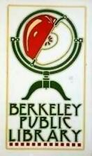 "Goines, David ""Berkeley Public Library""Silk Screen Poster rag paper"