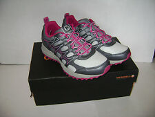NIB MERRELL ACTIVE TREK WOMEN TRAIL SHOES Size 7.5 M GRANITE VIVACIOUS
