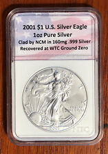 2001 World Trade Center 9/11  Recovery Silver Eagle