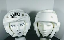 Warrior Head By Macho Youth S Martial Arts Head Gear Protection used 2 for 1