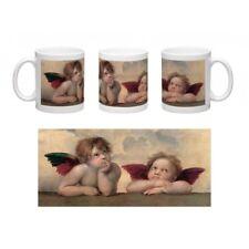 Tazza in Ceramica Personalizzata Mug Raffaello Angeli - Madonna Sistina (detail)