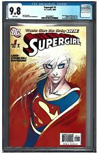 SUPERGIRL #1 CGC 9.8 (10/05) DC Turner cover white pages