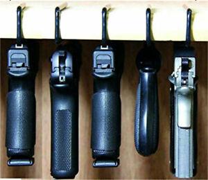 Lot of 5! Gun Safety Gun Storage Pistol/Handgun Rack Storage Solutions Hangers