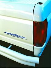 ford lightning side and tailgate decal ford truck racing stripe sticker