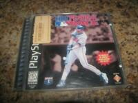 MLB Pennant Race Baseball Sony Playstation 1 (PS1) Game Complete