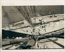 1974 Deck View From Rigging Sailing Boat Schooner Bluenose II Press Photo
