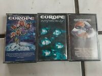 Lot Of 3 Europe Cassette Tapes-  Final Countdown, and 2 more.