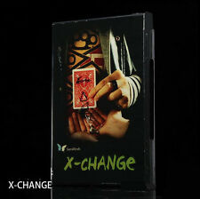 X Change (DVD and Gimmick) by Julio Montoro and SansMinds,Close Up Magic Tricks