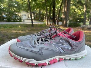New Balance NBGW1006 Minimus Sport Womens Golf Shoes - Pink/Grey - 11 B