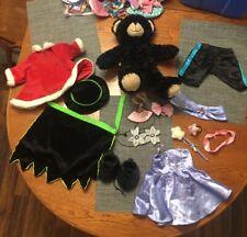 New Listingbuild a bear lot Black Bear plush Clothes Costumes