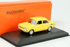 NSU 1200 TT in Yellow 1967 an Maxichamp Issue 1 43rd. .