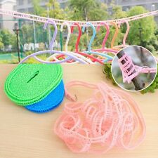 5M Practical Portable Home Outdoor Tourism Clothesline Washing Clothes Line Rope
