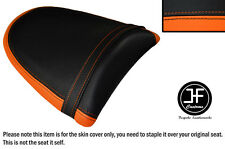 DESIGN 2 ORANGE BLACK VINYL CUSTOM FOR KAWASAKI Z750 Z1000 04-06 REAR SEAT COVER