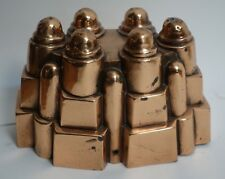 19th Century French Sold Copper Pudding Mold