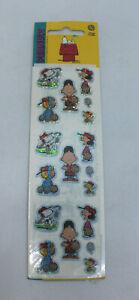Peanuts Snoopy Sandylion's Blockbuster Shiny Sticker Collection UFS 1 Sheet