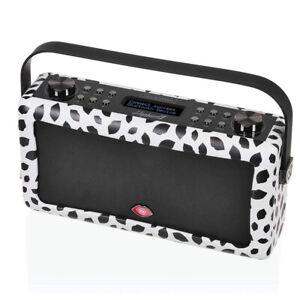 VQ Hepburn MKII Portable DAB+ FM Radio Bluetooth Speaker Lulu Guinness Black Lip