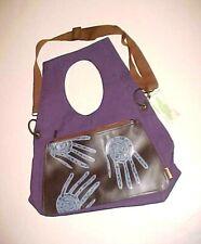 Blackeyes Finery Company City Leisure Hands Purple Bag Shoulder Purse New NWT