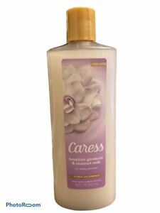 1 Caress Brazilian Gardenia & Coconut Milk Body Wash 18 Oz Floral Oil Essence